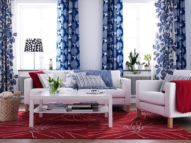 4th of July Home Decorating Ideas. 4th of July Home Decorating Ideas   Living rooms  Red living rooms