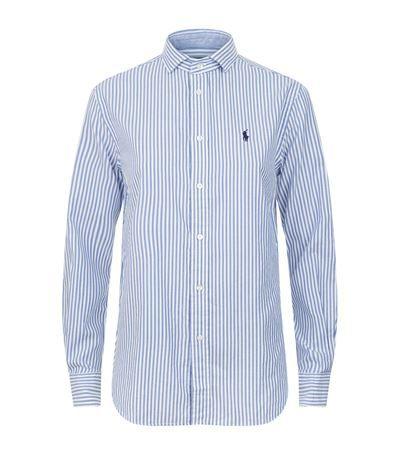 POLO RALPH LAUREN Striped Oxford Shirt.  poloralphlauren  cloth     Polo  Ralph Lauren   Pinterest   Polo ralph lauren, Oxford shirts and Polos aa48c7ce75
