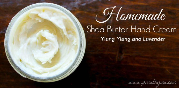 Homemade shea butter hand cream recipe shea butter