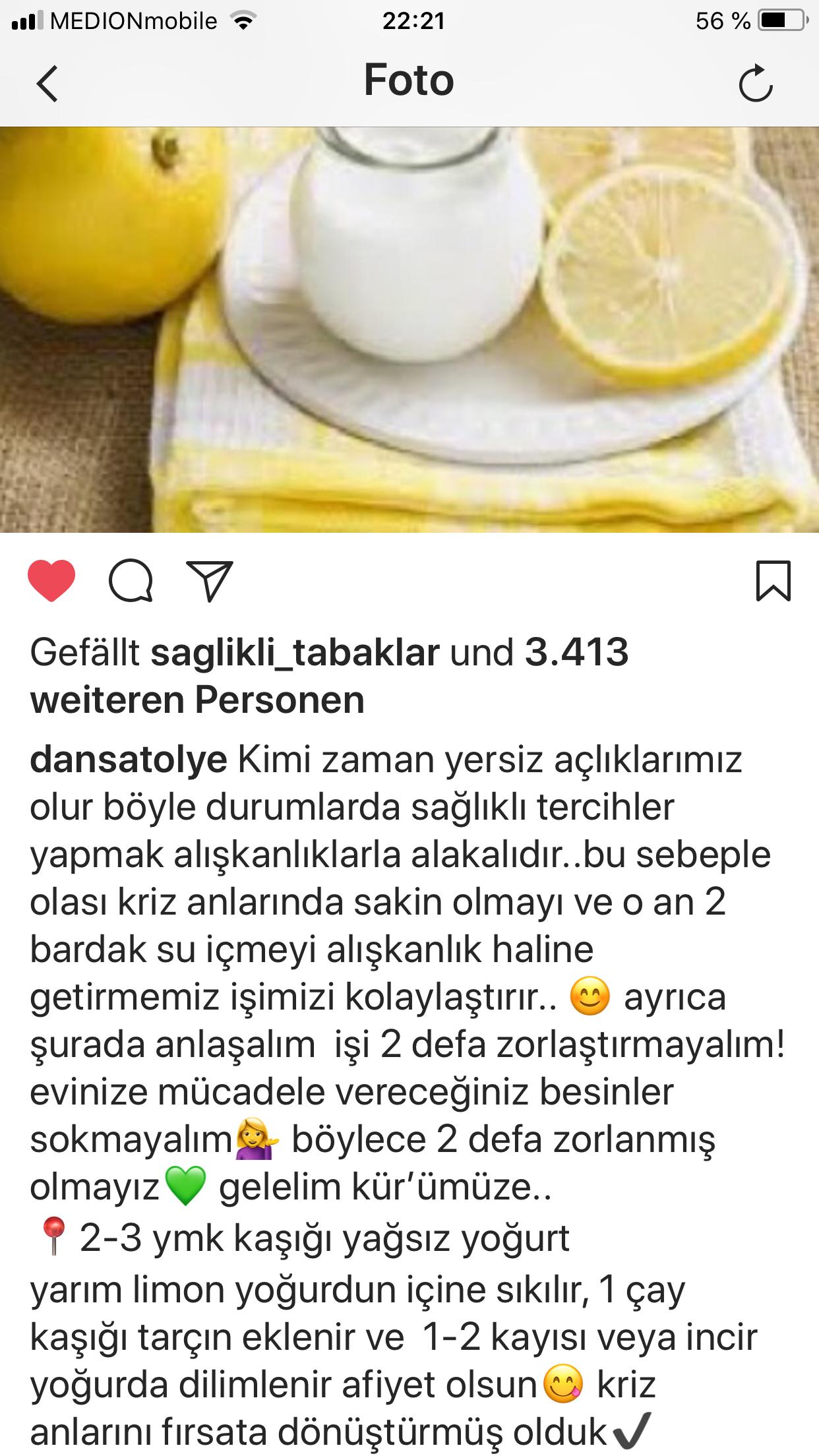 Yoğurt Limon Kürü