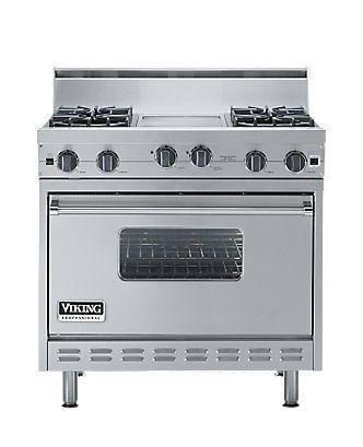 Classic 36 Inch Open Burner Gas Range Viking Range Corporation Convection Oven Kitchen Inspirations Convection