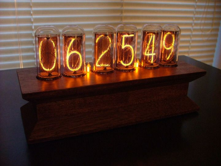 Nixie Tube Clock Project