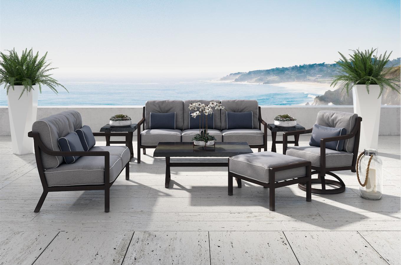 Legend Cushion Seating. #castelle #castelleluxury # ... on Fine Living Patio Set id=49605