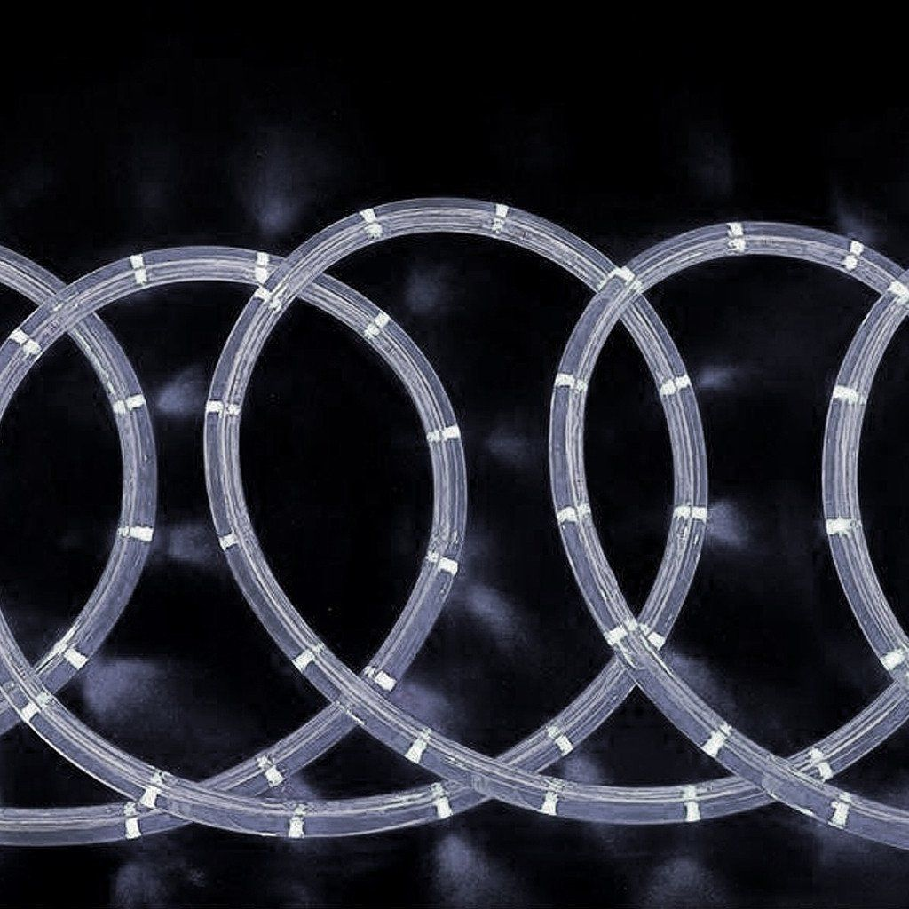 33ft 250 led white rope lights for garden patio party indoor outdoor 33ft 250 led white rope lights for garden patio party indoor outdoor decoration mozeypictures Choice Image