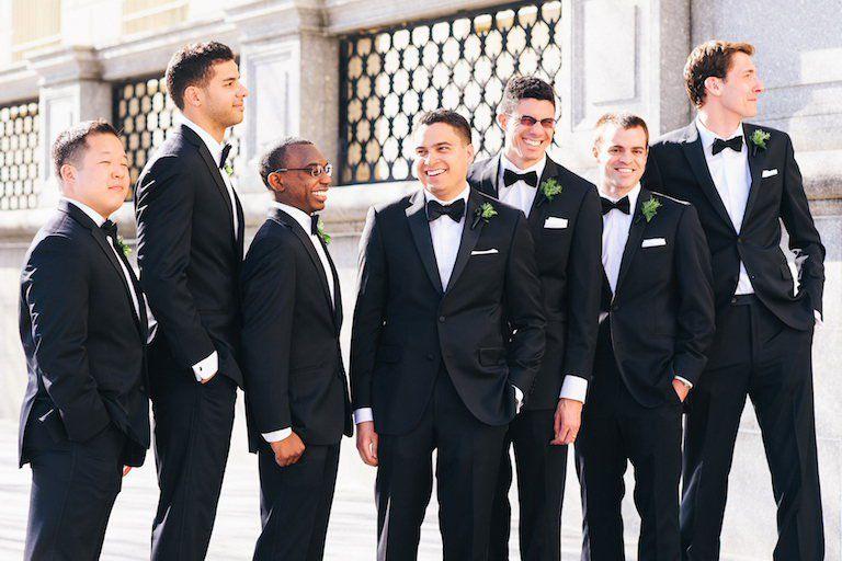 Groom Groomsmen Beach Wedding Suitswedding