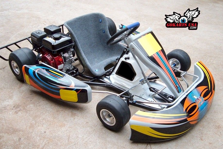Roadrat Xr Adult Race Go Kart 6 5hp Clone Engine Super