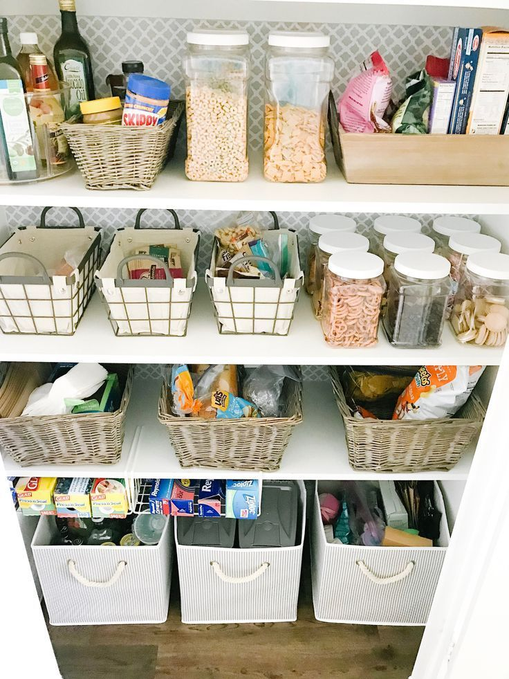 HUGE affordable pantry makeover + all the sources! #ABlissfulNest #organization #summerhomeorganization