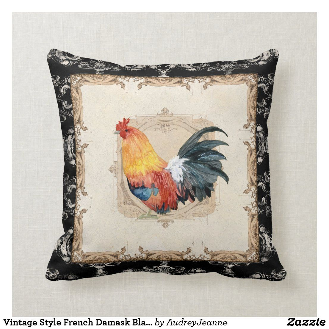 Tapestry Dragonfly Farmhouse Country Rooster Dogs Parrots Cushion Pillow Covers
