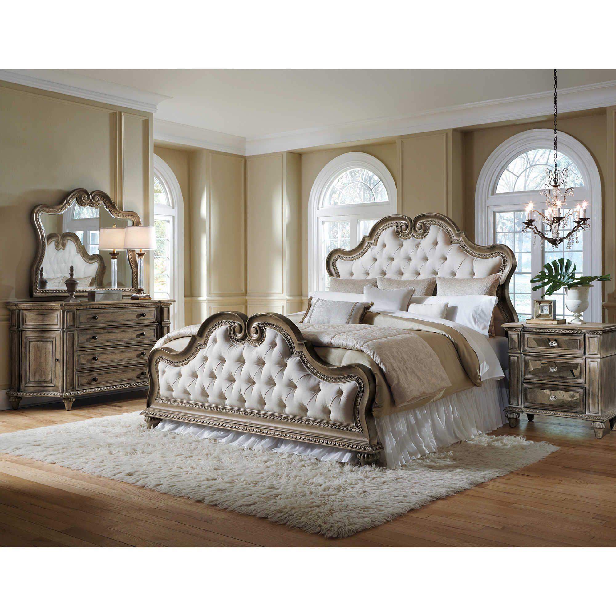PDP main image Bedroom furniture sets, Upholstered