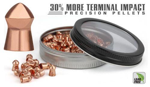 Gamo PBA Precision .22 Cal 100ct Package Lead Free 14.4gr  # 632272154 New