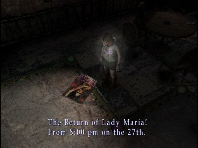 silent hill 2 maria heavens night