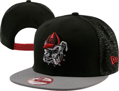 new style 67b4a ac460 Georgia Bulldogs New Era Snapback Adjustable Hat