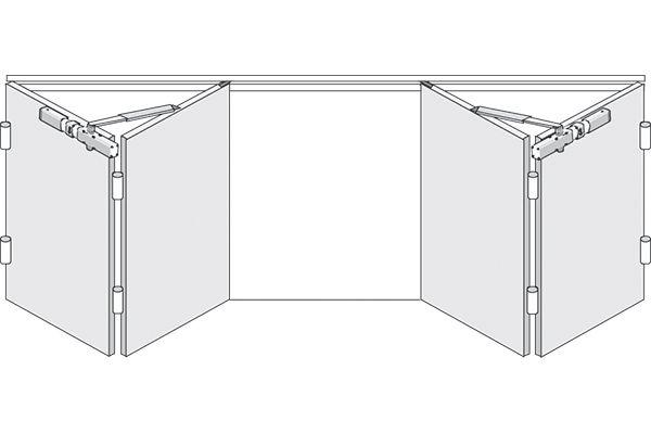 Specs Bi Fold Garage 06 600x400 Garage Doors, Garage House, Contemporary  Front Doors,