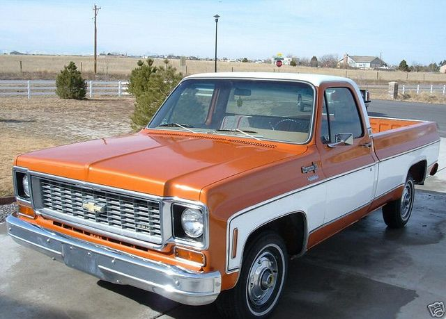 1973 Chevy Truck >> 1973 Chevy Pickups 1973 Chevrolet Gmc Pick Up Truck C10