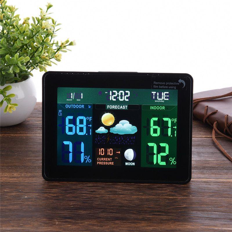 Wireless Weather Station Indoor Outdoor Forecast Temperature