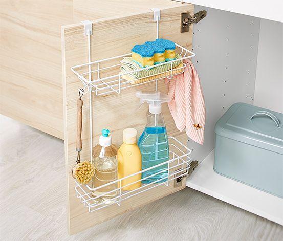 Schranktür-Regal #pantrycabinet Ordentlich praktisch! Dieses Türregal ist der …