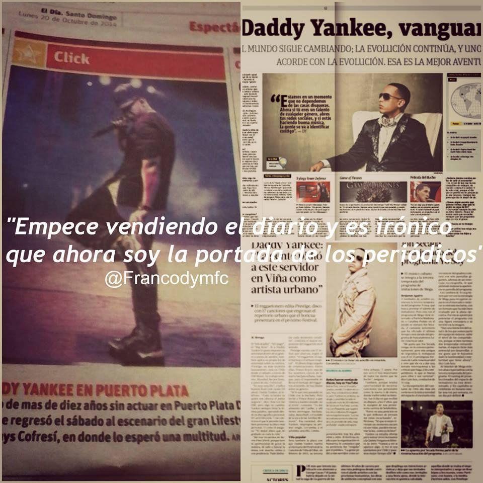 DYMFC_ECUADOR : Empece vendiendo el diario y es ironico, que ahora soy la portada de los periodicos @daddy_yankee Esperando al jefe http://t.co/pOpOs6Tnhv   Twicsy - Twitter Picture Discovery
