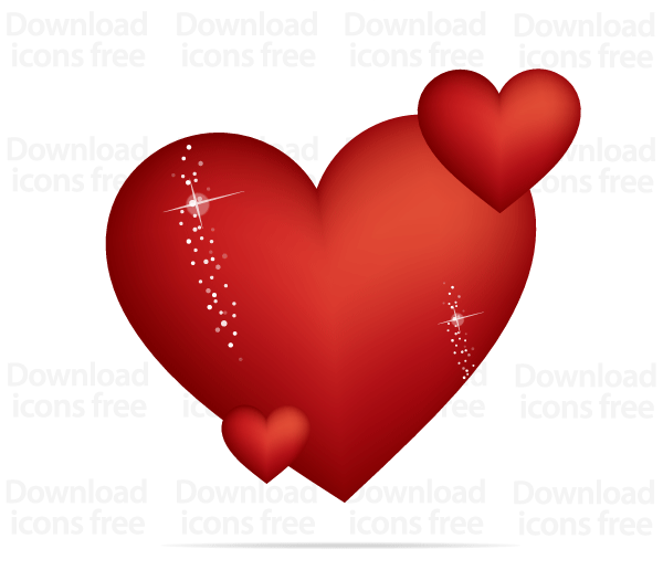Free Red Valentines Heart Vector Graphics   Free Vectors ...
