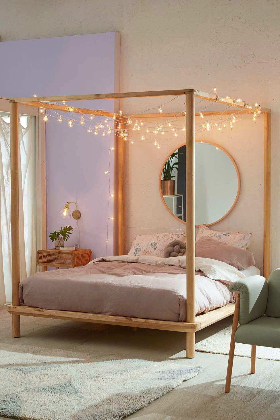 Ideal king size canopy bed ashley furniture one and only