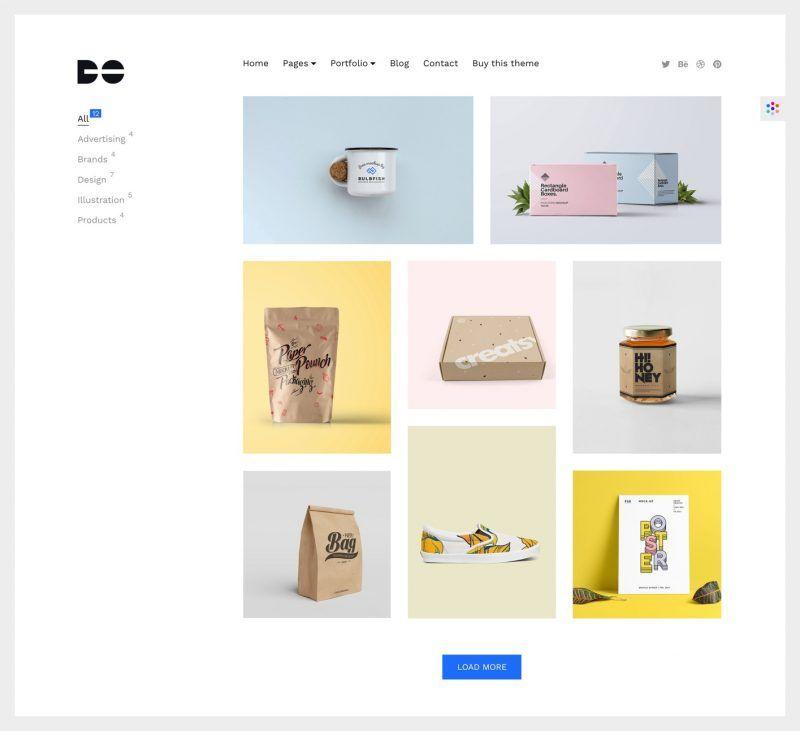 DO WordPress Theme: A Simple Solution for Online Portfolios