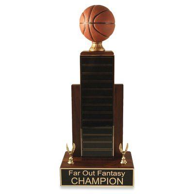Mvp Basketball Trophy Basketball Trophies Mvp Basketball Fantasy Basketball