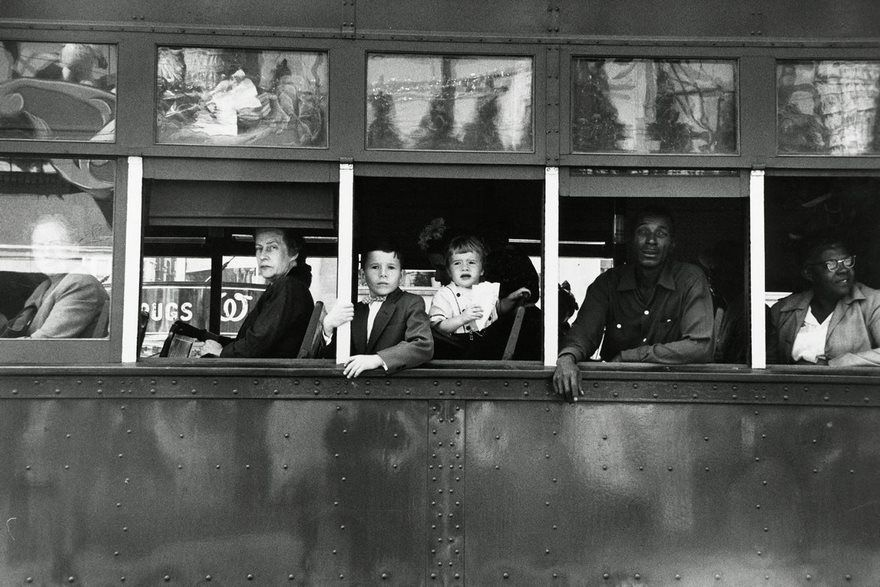 Trolley To New Orleans, Robert Frank, 1955