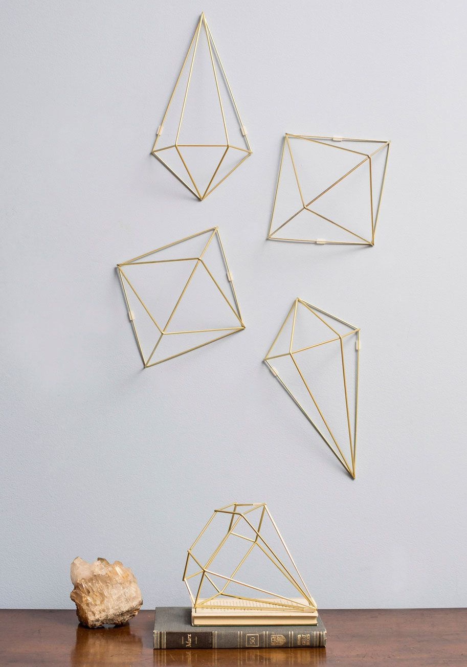 Abode Well Wall Decor Modcloth I Love Weird Wire Sculptures Specially When