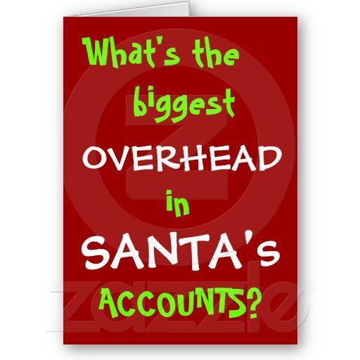 Christmas Accounting Jokes.Accountant Christmas Card Joke Personalisable Zazzle