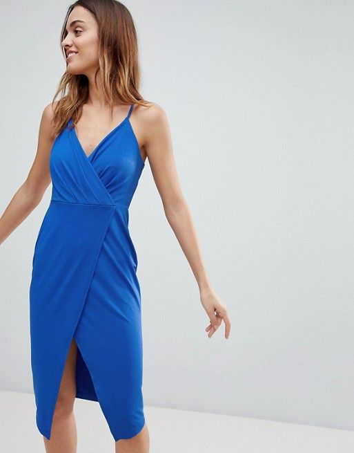Ivyrevel Ivyrevel Plunge Front Wrap Dress With Images