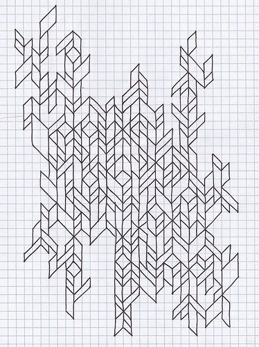 Untitled Graph Paper Drawings Graph Paper Designs Graph Paper Art