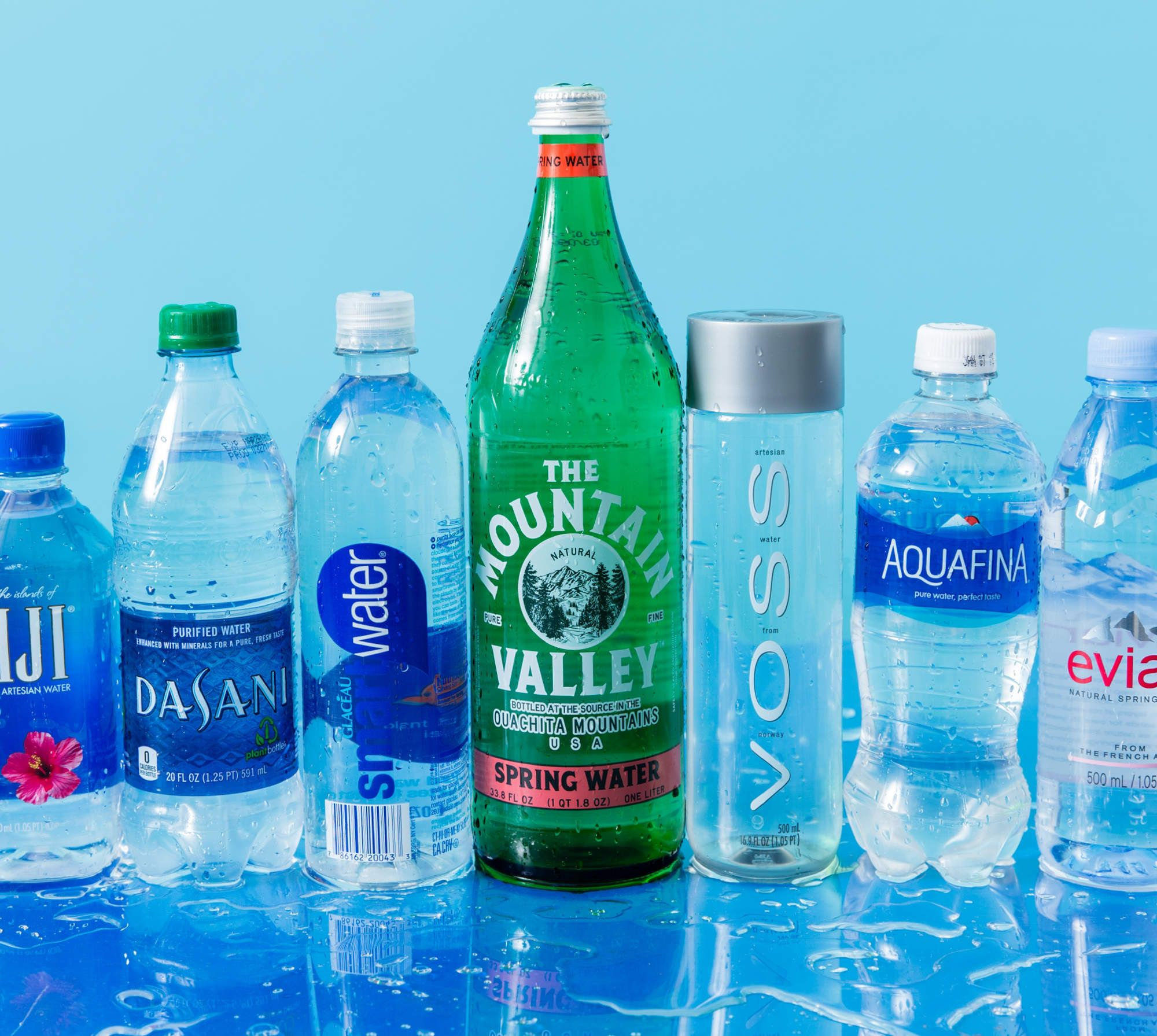 The Most Popular Bottled Waters Ranked Branded Water Bottle Water Branding Water Bottle