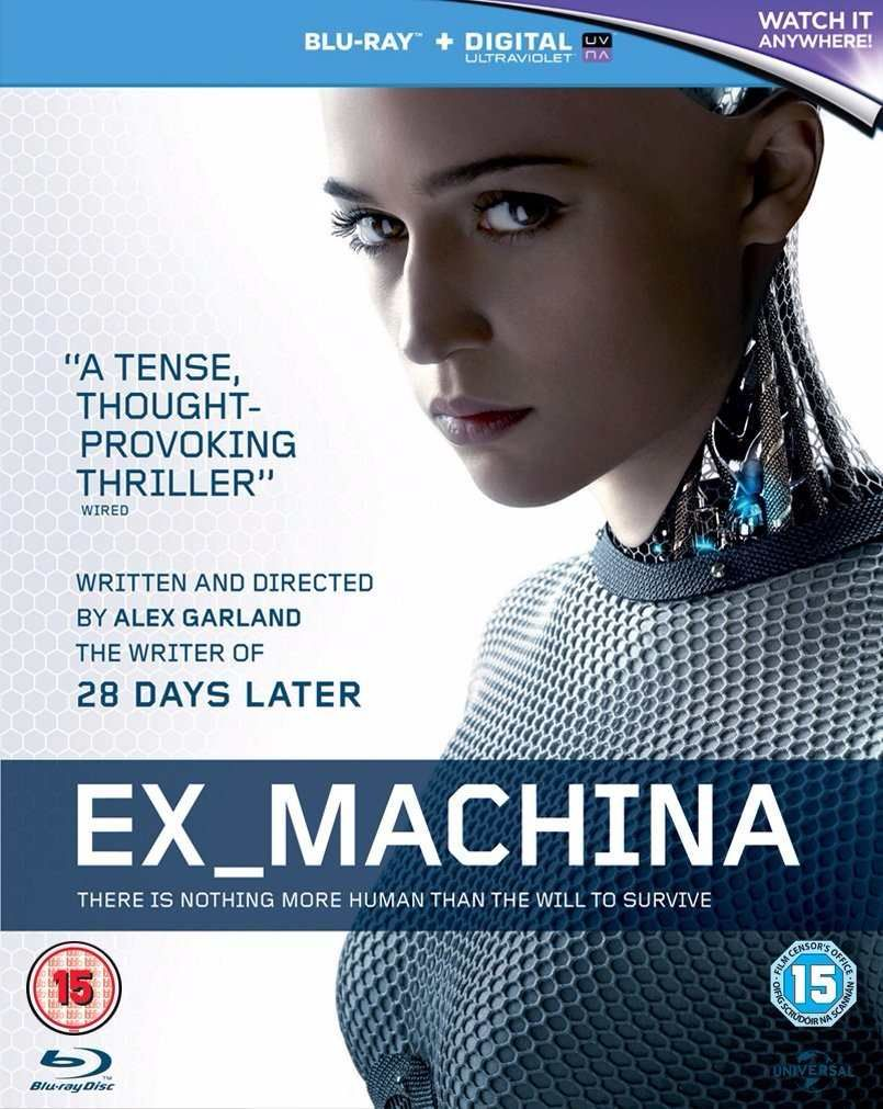 Ex Machina 2015 Brrip 480p 300mb Esub Ready Player One Movie