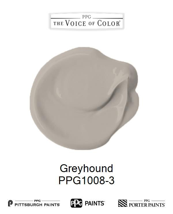Greyhound Ppg1008 3 In 2019 Trending Paint Colors