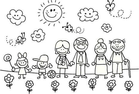Resultado de imagen para dia de la familia infantil | manualidades ...