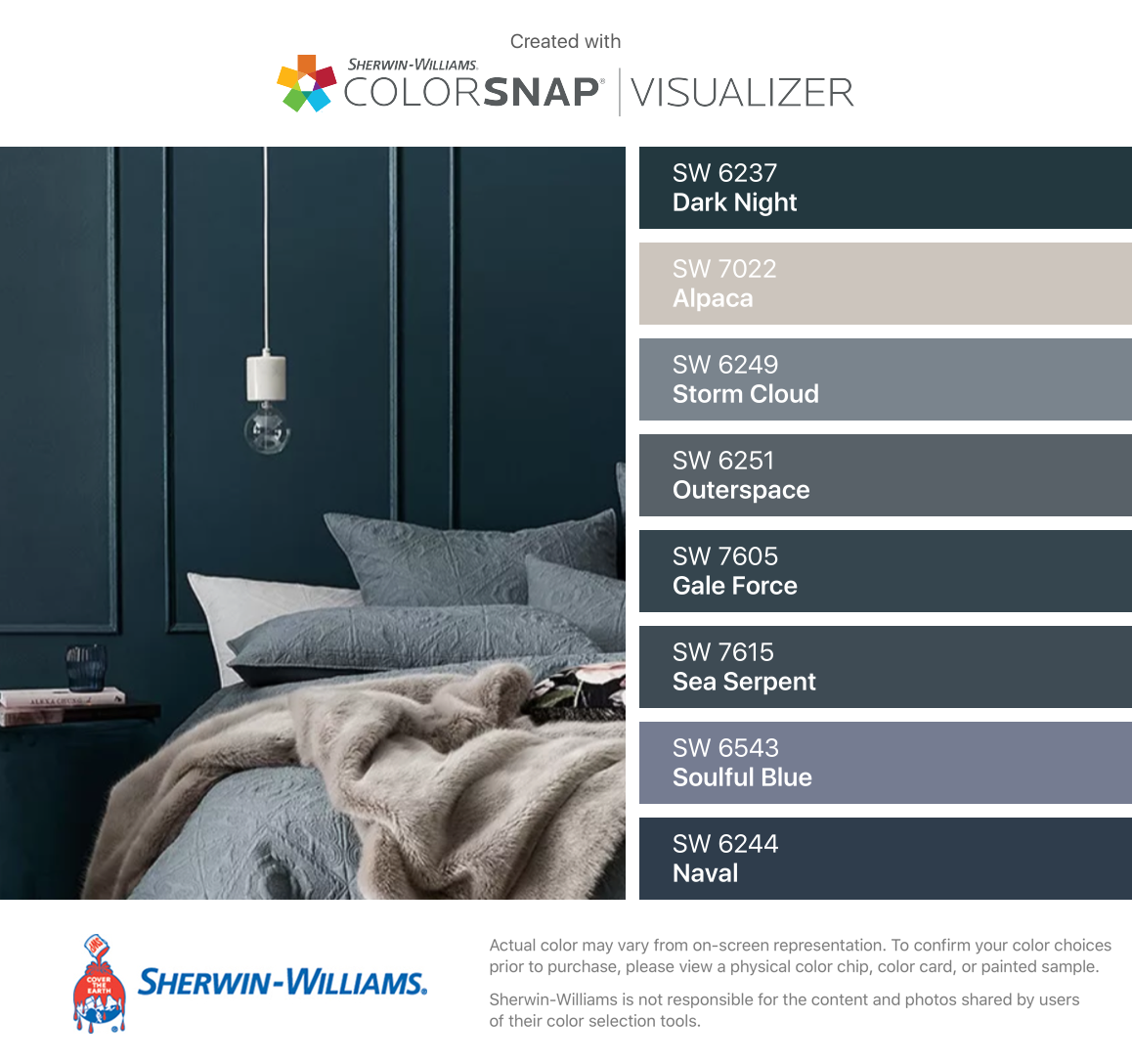 I Found These Colors With Colorsnap Visualizer For Iphone By Sherwi Room Paint Colors Sherwin Williams Dark Blue Grey Paint Sherwin Williams Paint Colors Blue
