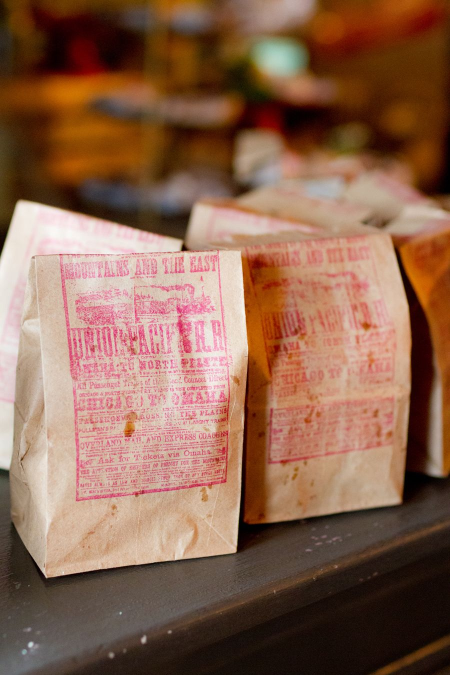 Wedding Popcorn/Crackerjack prize goody bag favor. Simple gift and ...