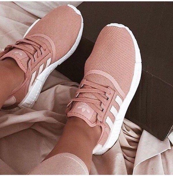 ShopStyle | Fashion, Rose gold adidas, Women