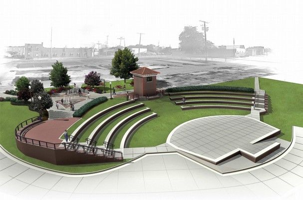 Outdoor Amphitheater Plan Google Search Pinterest Landscaping Searching