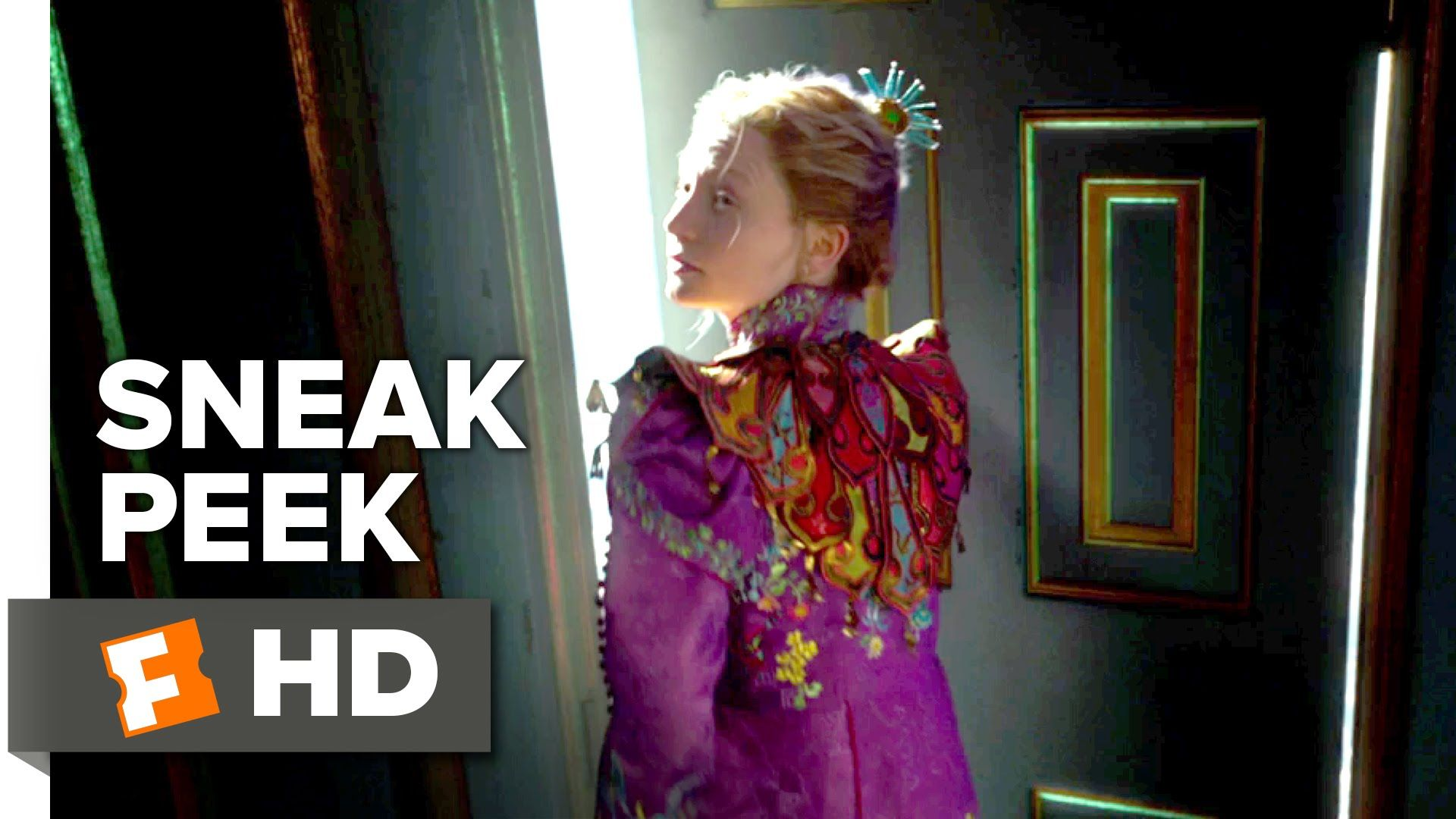 Alice Through The Looking Glass 2016 Official Sneak Peek 1