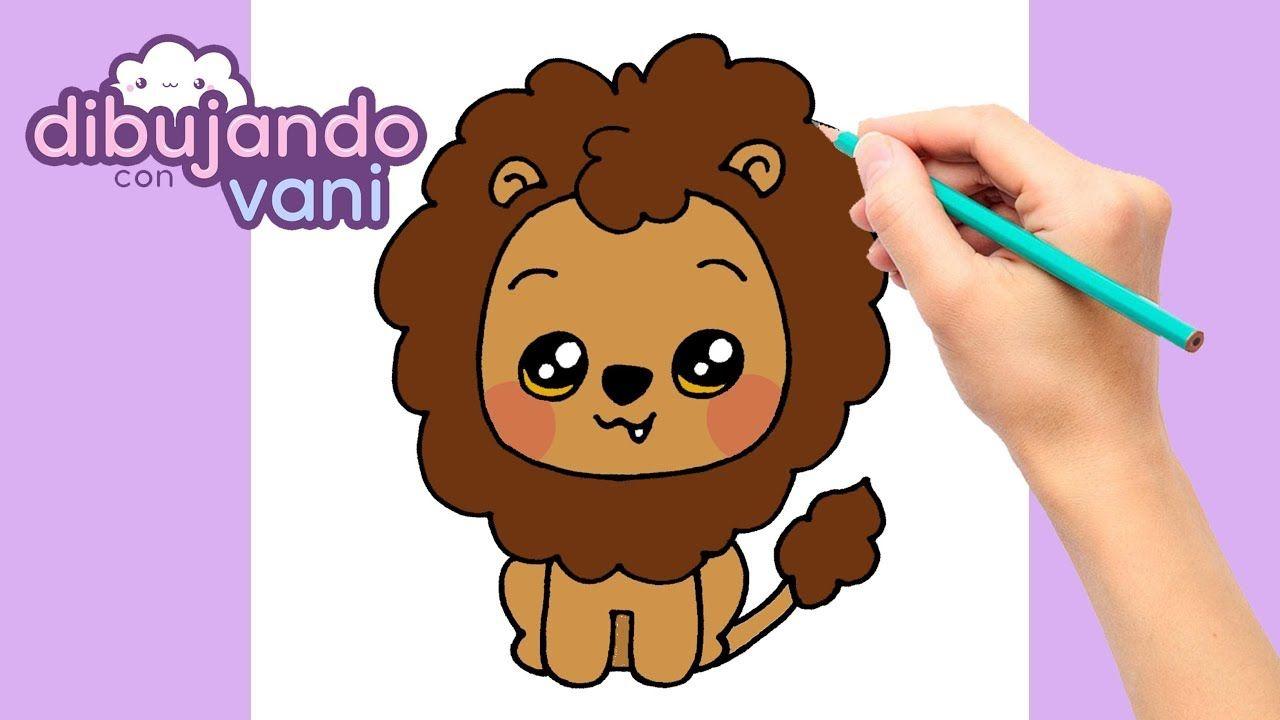 Como Dibujar Un Leon Paso A Paso Dibujos Faciles Para Dibujar Dibujo Dibujos Faciles Dibujos De Leones Faciles Imagenes Para Dibujar