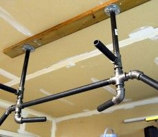 build pull up bar basement | Home Bar Design