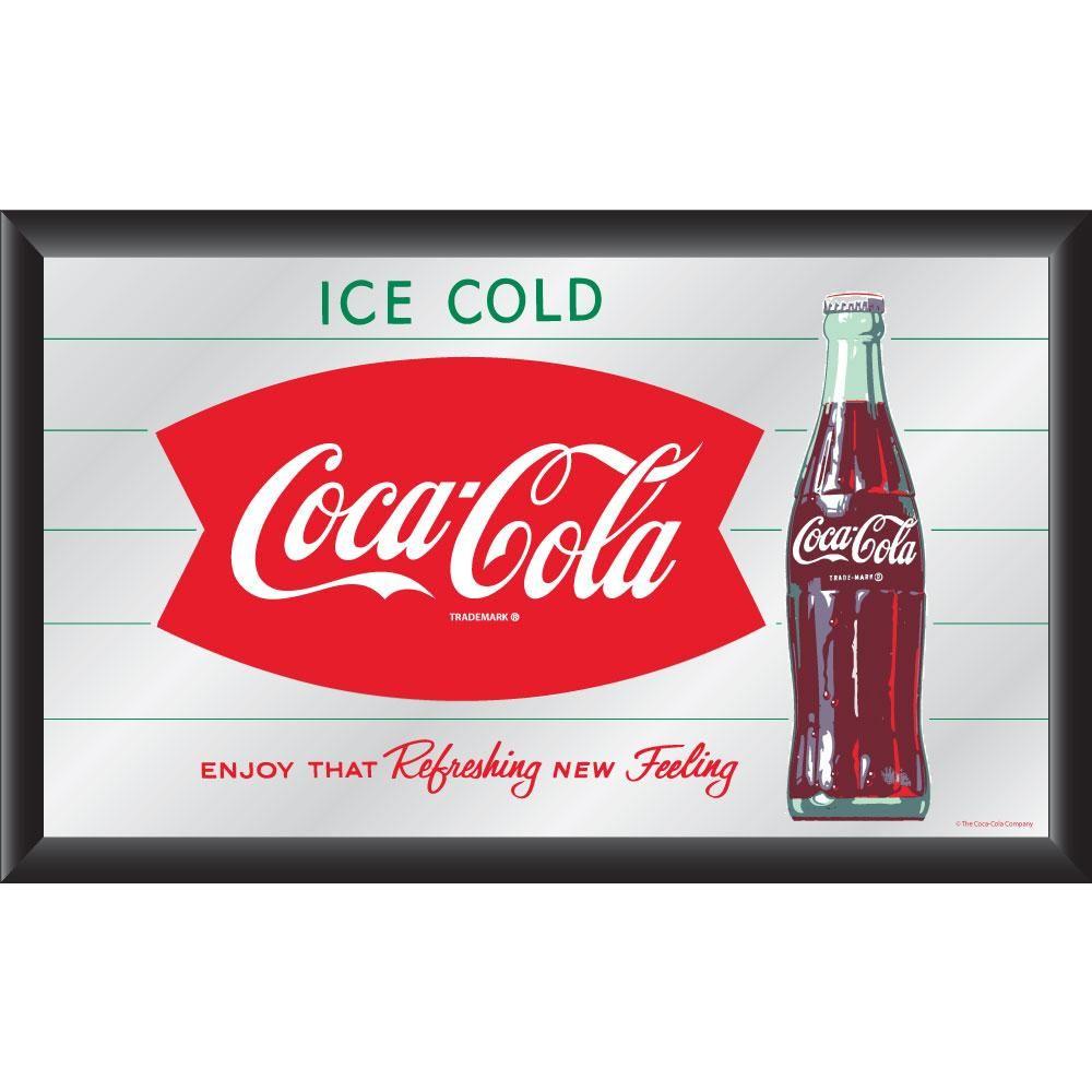 Vintage coca cola products | Coca-Cola Collectible with Coke Logo Vintage Mirror | Overstock.com