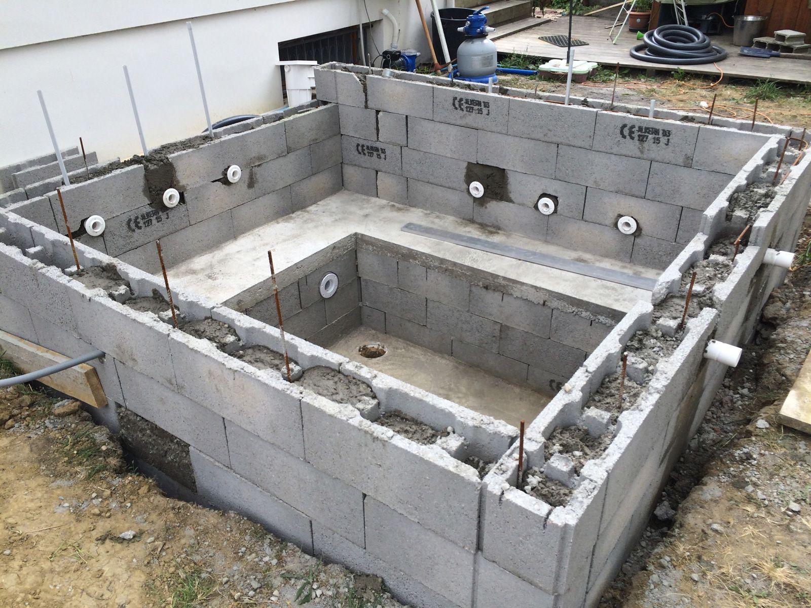 construire un jacuzzi en beton enredada