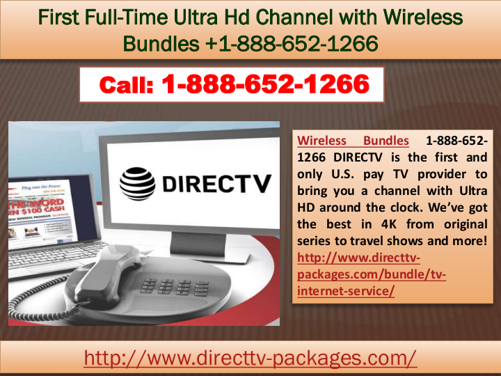 Does Directv Have Internet Service >> First Full Time Ultra Hd Channel With Wireless Bundles 1 888