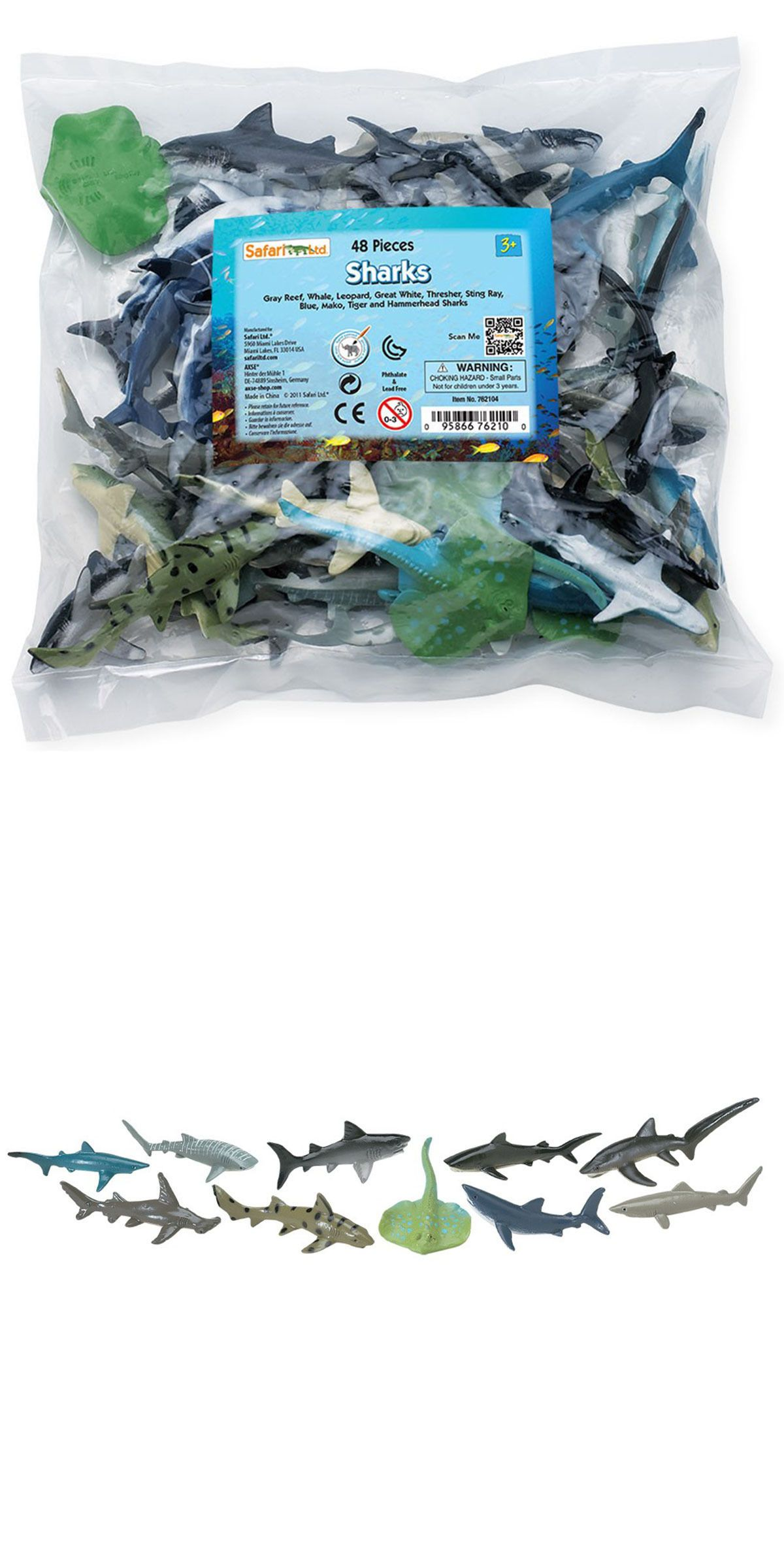 Animals And Nature 31744 Sharks Bulk Bag Mini Figures Safari Ltd Snap Circuits Jr Sc 100 Electronics Discovery Kit New Factory Sealed Toys Educational Figurines Kids Buy It Now Only 3419 On Ebay