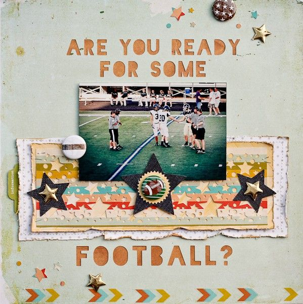Are you ready for some football? - Two Peas in a Bucket