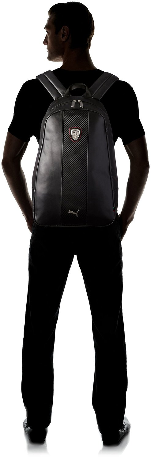 PUMA Men s Ferrari Long Sleeve Backpack   amazon.com   Features an internal