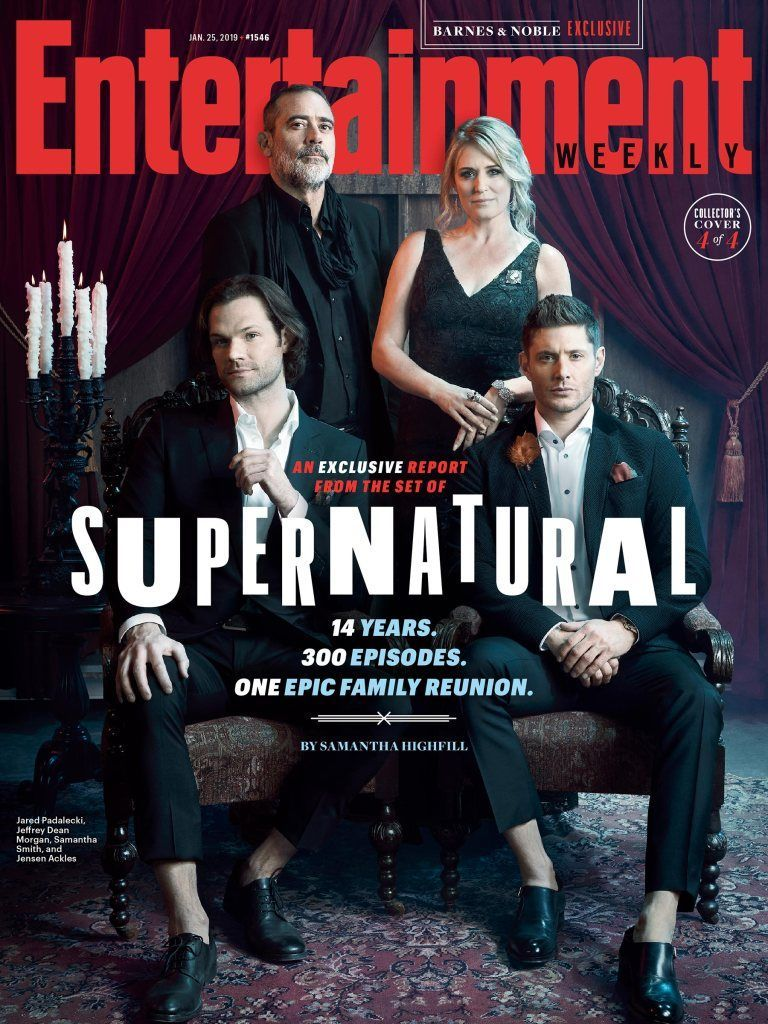 The Winchester on EW Cover : Supernatural stars take you behind the scenes in exclusive EW portrait