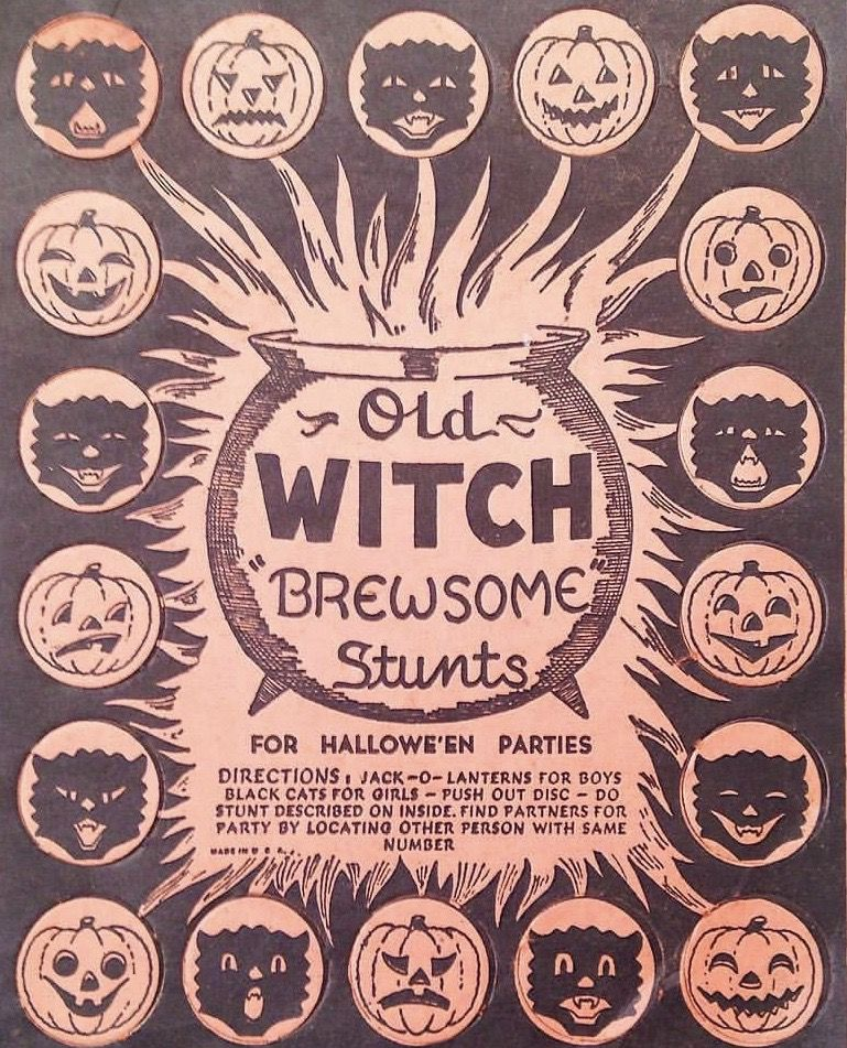 Pin By Jeanne Loves Horror On Vintage Halloween Vintage Halloween Halloween Vintage