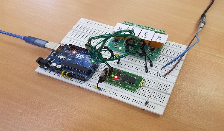 Voice Activated Home Automation Home Automation Project Home